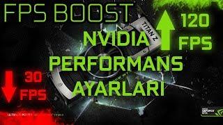 NVIDIA Ekran Kartı FPS Arttrıma Nasıl Yapılır ve Yükseltme Yöntemleri