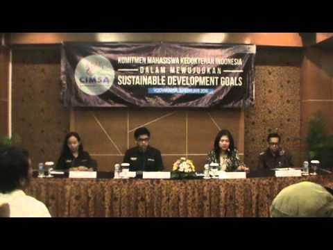 CIMSA PRESS CONFERENCE: MEDICAL STUDENTS' COMMITMENT IN  ACTUALIZING SUSTAINABLE DEVELOPMENT GOALS