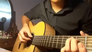 [ Hà Anh Tuấn ] Tái bút anh yêu em | Guitar cover solo (Hợp âm dưới mô tả)
