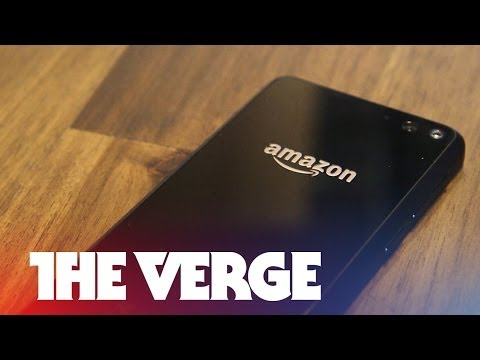Amazon Fire Phone hands-on