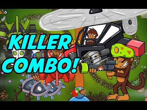 New Amazing Duo! - Bloons TD Battles Cool Combos