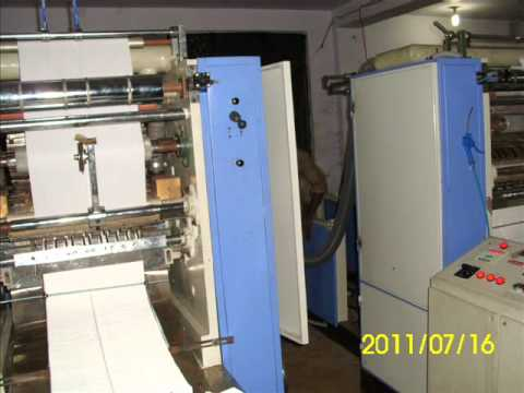 FACIAL TISSUES PAPER CONVERTING MACHINES MANUFACTURING IN INDIA
