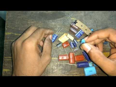 How  to identify  various  type  of  capacitor  and  its  concept