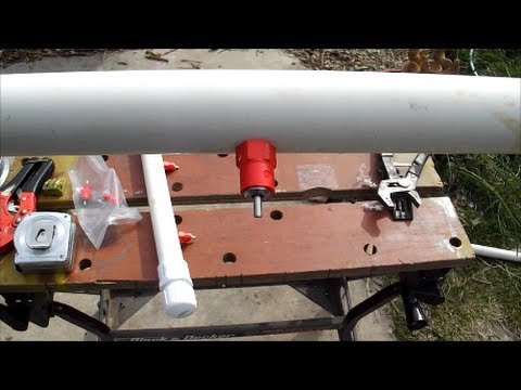 Building Chicken Waterer With Super Flow Nipples Youtube