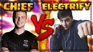 Chief Pat V.S ElecTr1fy !? HE WANTED REVENGE! (I DISSED HIM)