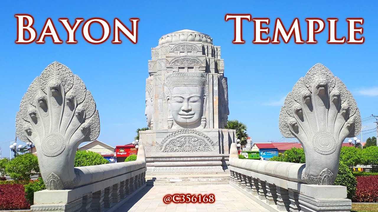 Bayon Temple Circle – Cambodia Tours – Angkor  Wat  Sunset - Phnom Penh Tours