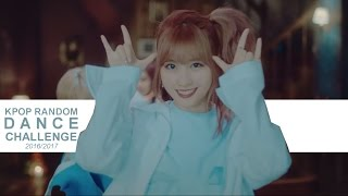 kpop random dance challenge 2016 2017 with mirrored video