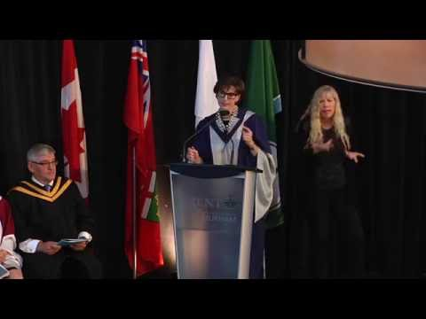 Convocation 2016 - Honorary Doctor of Laws Kathleen Taylor: Trent University Durham