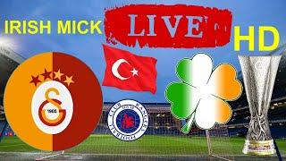 Sevco Rangers v Galatasaray Live HD Watch Along Europa League Play Off