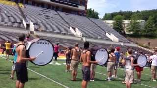 Appalachian State Marching Mountaineers Tuba Cam