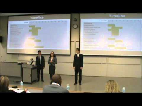 2nd Place  |  Entrepreneurship Case  |  UBC - Sauder School of Business  |  JDC West 2012