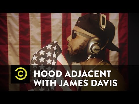 Hood Adjacent with James Davis - Trap Cover: The National Anthem