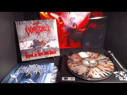 Vomitory Limited European Import re-issue LP Stream