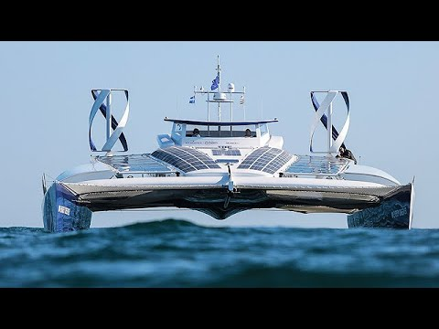 Energy Observer - World's First Hydrogen Boat