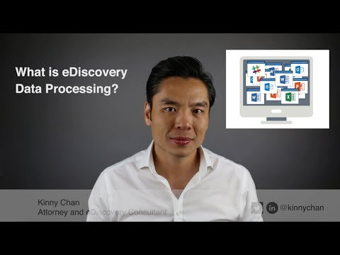 What Is Data Processing In EDiscovery?