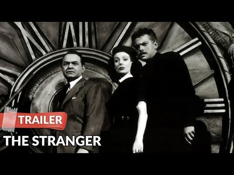 The Stranger 1946 Trailer | Orson Welles | Loretta Young
