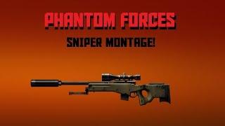 [ROBLOX] Phantom Forces Montage #1 - L115A3 SNIPER!