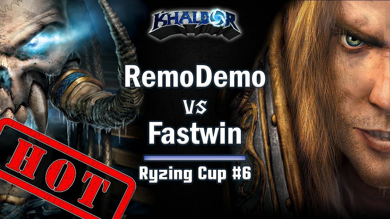 ►WarCraft 3 - RemoDemo (UD) vs. FastWin (HU) - Ryzing Cup #6