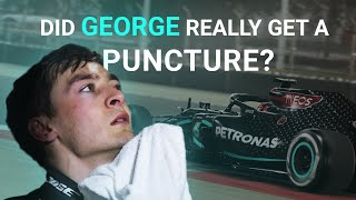 Did George Russell Really Get A Puncture At The Sakhir Grand Prix? | F1 2020