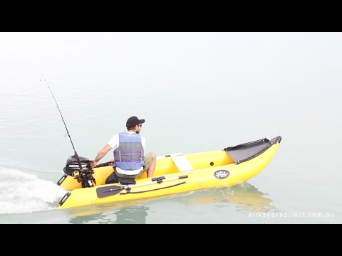 Nifty Boat Inflatable Fishing Boat