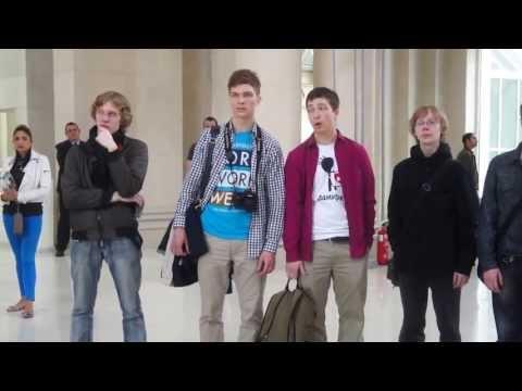 Видео, Academic Choir of PetrSU. Flashmob  National Art
