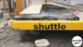 PRUSSIANI Cut Jet Shuttle Saw waterjet Cut Move automatic