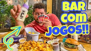 BAR COM JOGOS DE TABULEIRO EM SP - TURISTANDOSP