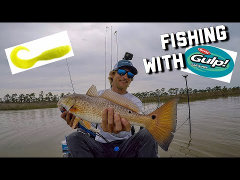Inshore Fishing With Gulp! Baits | Alabama Kayak Fishing