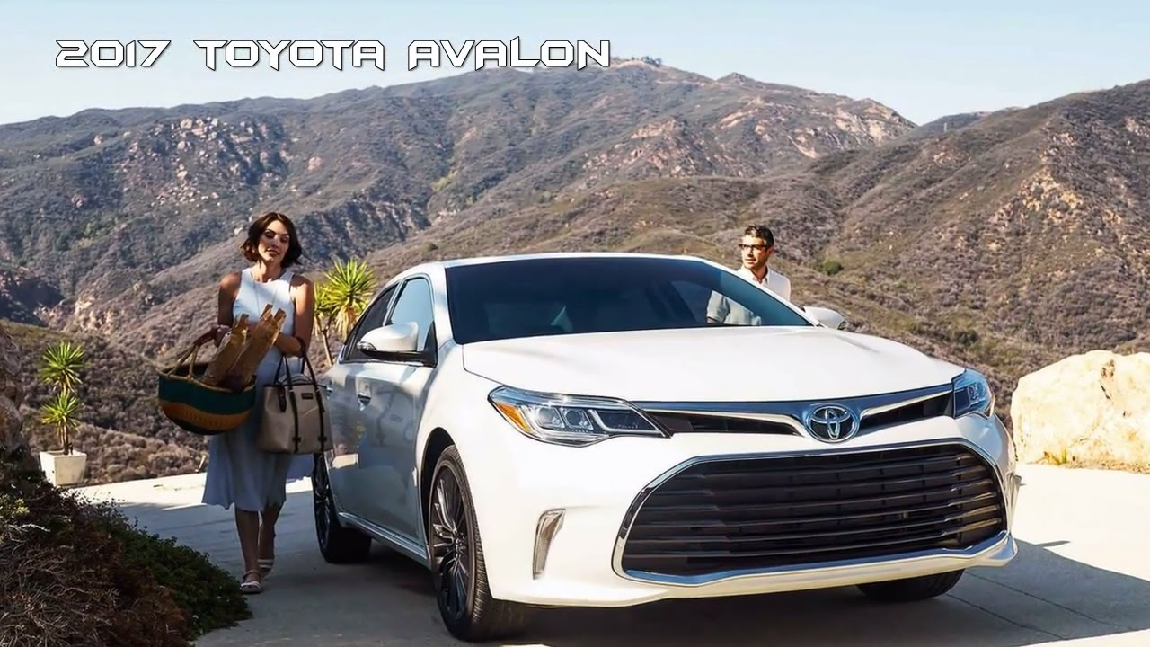 2017 Toyota Avalon Redesign Styles Features Highlights