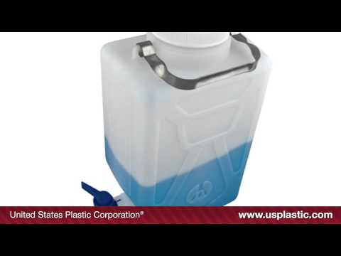 THERMO SCIENTIFIC™ NALGENE™ RECTANGULAR CARBOYS | U.S. Plastic Corporation® | Product Spotlight: