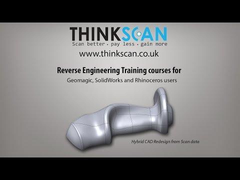 Reverse engineering training courses   Geomagic Sample