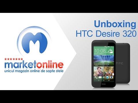 HTC Desire 320 - Unboxing MarketOnline.ro