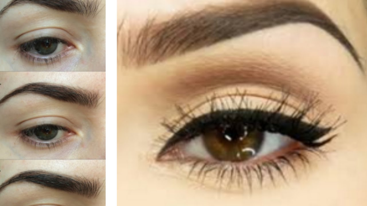 Easy Eyebrow Tutorial How To Trim Tweeze Shape Fill Your Brows