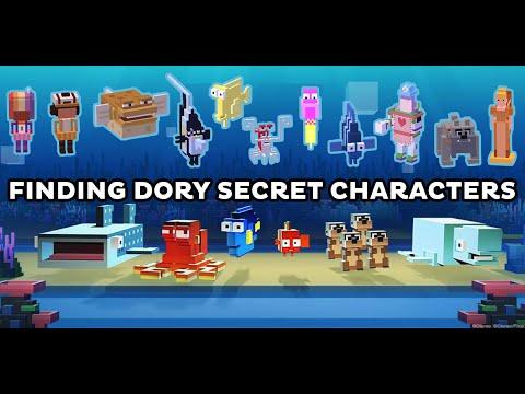 finding dory disney crossy road secret characters unlocked. Black Bedroom Furniture Sets. Home Design Ideas