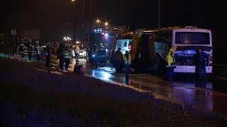 Két halott, illetve több mint 20 könnyű és súlyos sérült a Debreceni úti mentőbalesetben 2018.06.28.