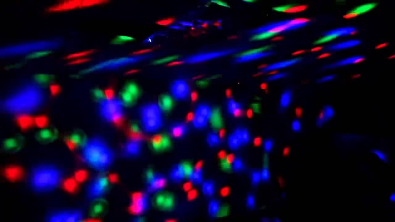 Foco Lampara Giratoria Led RGB Multicolor Fiesta Disco - YouTube