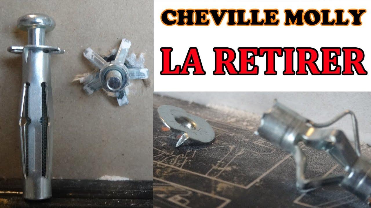 Mettre Une Cheville Molly Metal Mur En Plaque De Platre Ba13 To Put A Molly Bolt Youtube