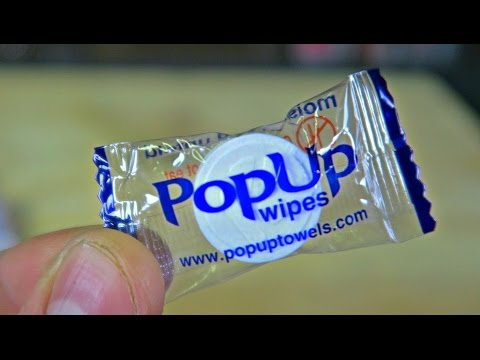 Thumbnail: What is PopUp Towels?