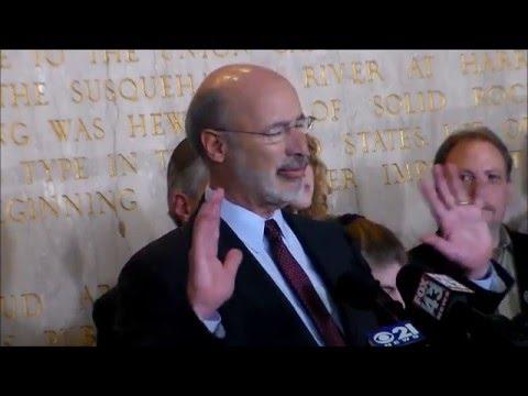 Governor Tom Wolf and Senator Mike Folmer on Marijuana