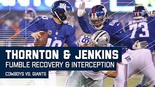 Cowboys Force Turnover & Giants Return the Favor! | NFL Week 14 Highlights