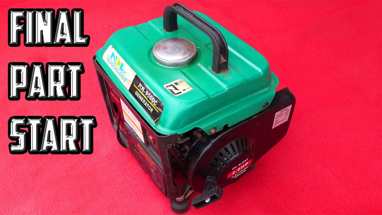 How to repair portable generator part 3 of 3 last