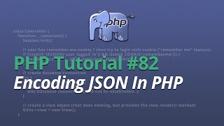 In this php video tutorial i'll be showing you how to encode json within php. it's pretty simple stuff and is incredibly useful! encoding so e...