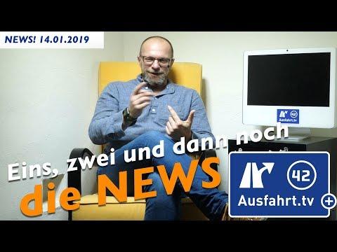 14.01.2019 Ausfahrt tv + NEWS!
