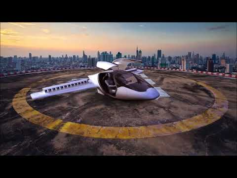 Lilium  the world's first electric vertical take off and landing jet