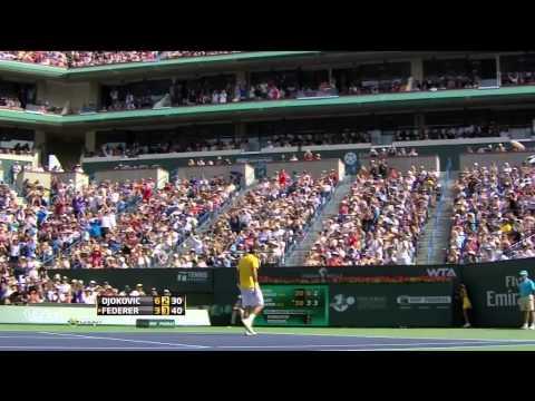 Djokovic vs Federer 2011 Indian Wells Semi-Finals (Full Match)