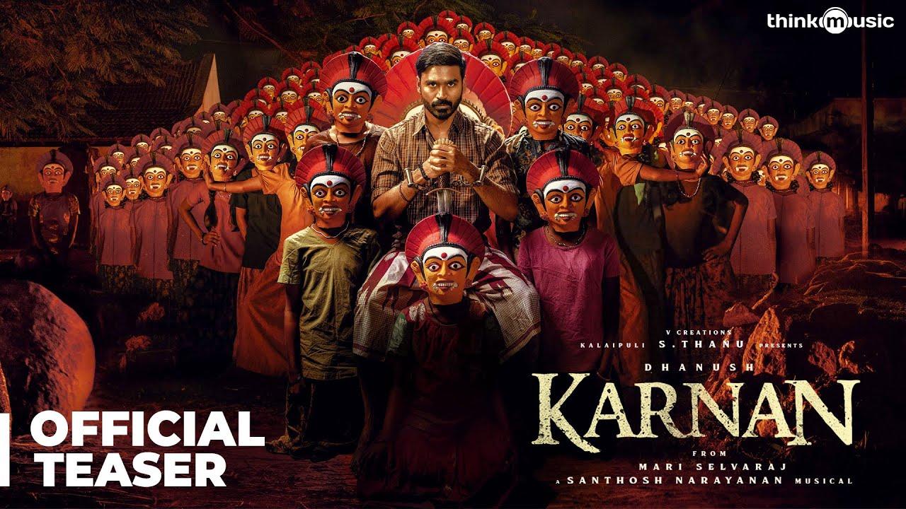 Download Karnan Official Teaser   Dhanush   Mari Selvaraj   Santhosh Narayanan   V Creations