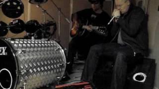 Harp, Guitar & Drums jam: Crossroads Blues