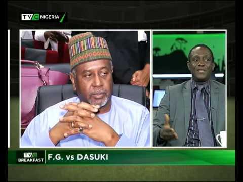 Federal Government Vs Dasuki