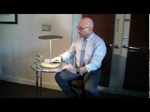 Pablo Designs Circa Table Lamp Product Demo Youtube