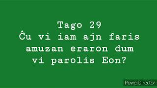29a Tago – Ĉu vi iam ajn faris amuzaj eraron dum vi parolis Esperanton? #30DYRC